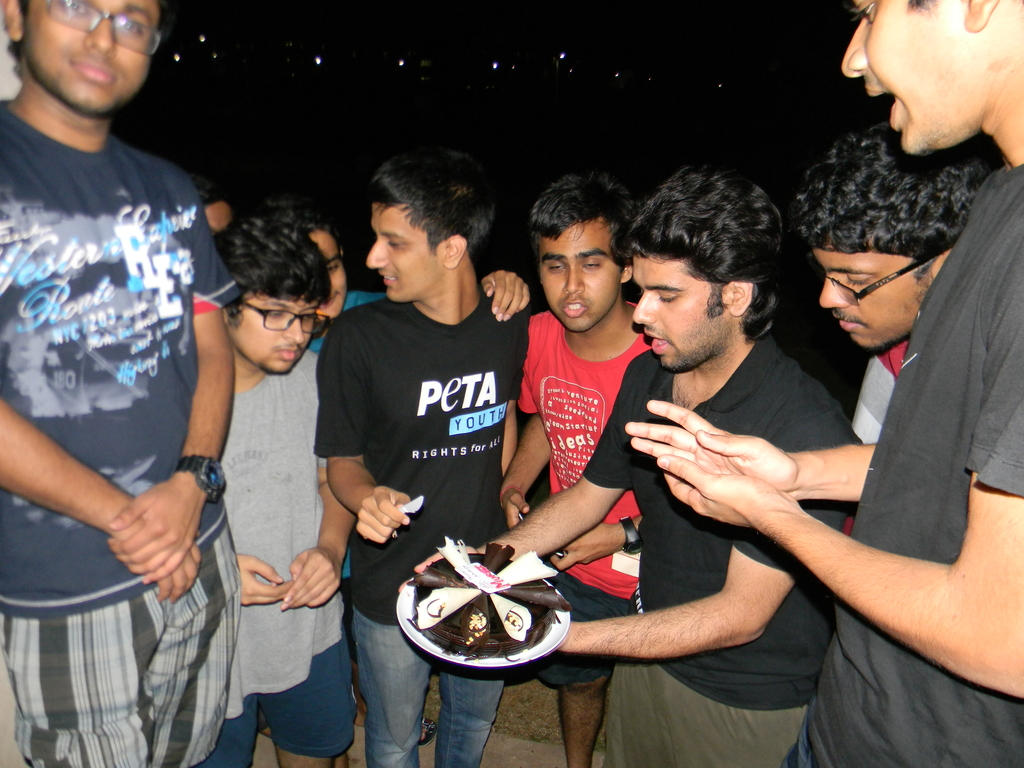 First B'day at BITS. Goa. MemExp Blog