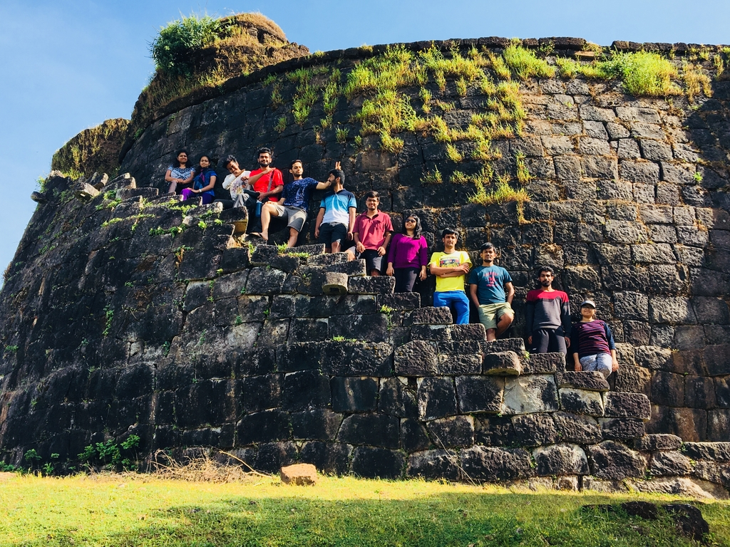 Nagara fort and sore leg... Arduous Kodachadri. MemExp Blog