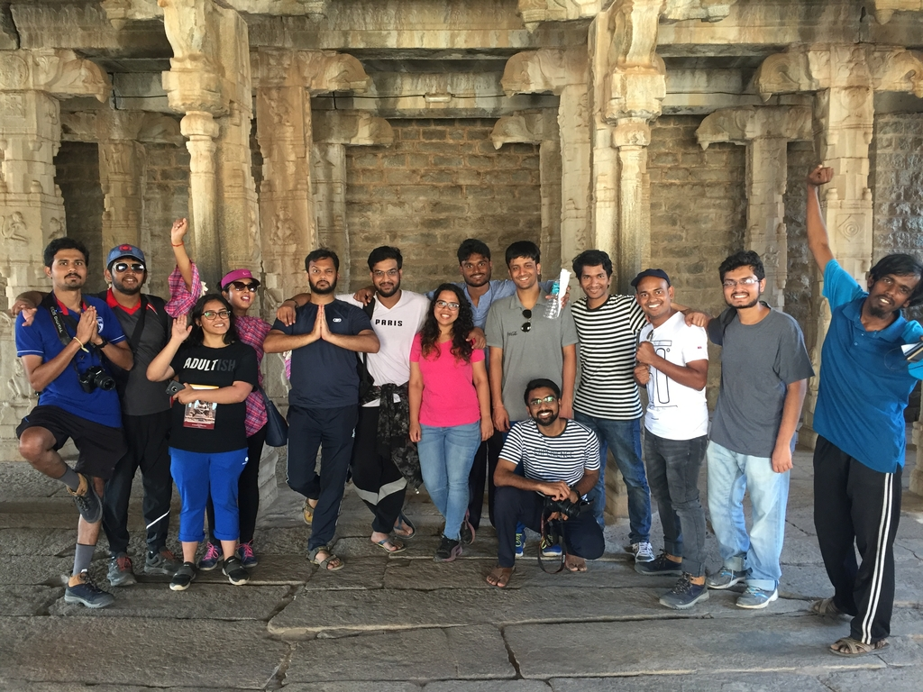 Memories shared with @<a... Ruins of Hampi. MemExp Blog