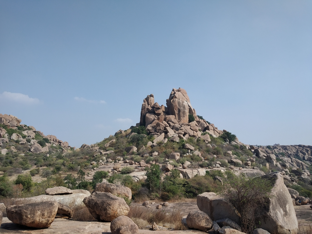Still wondering how all ... Ruins of Hampi. MemExp Blog