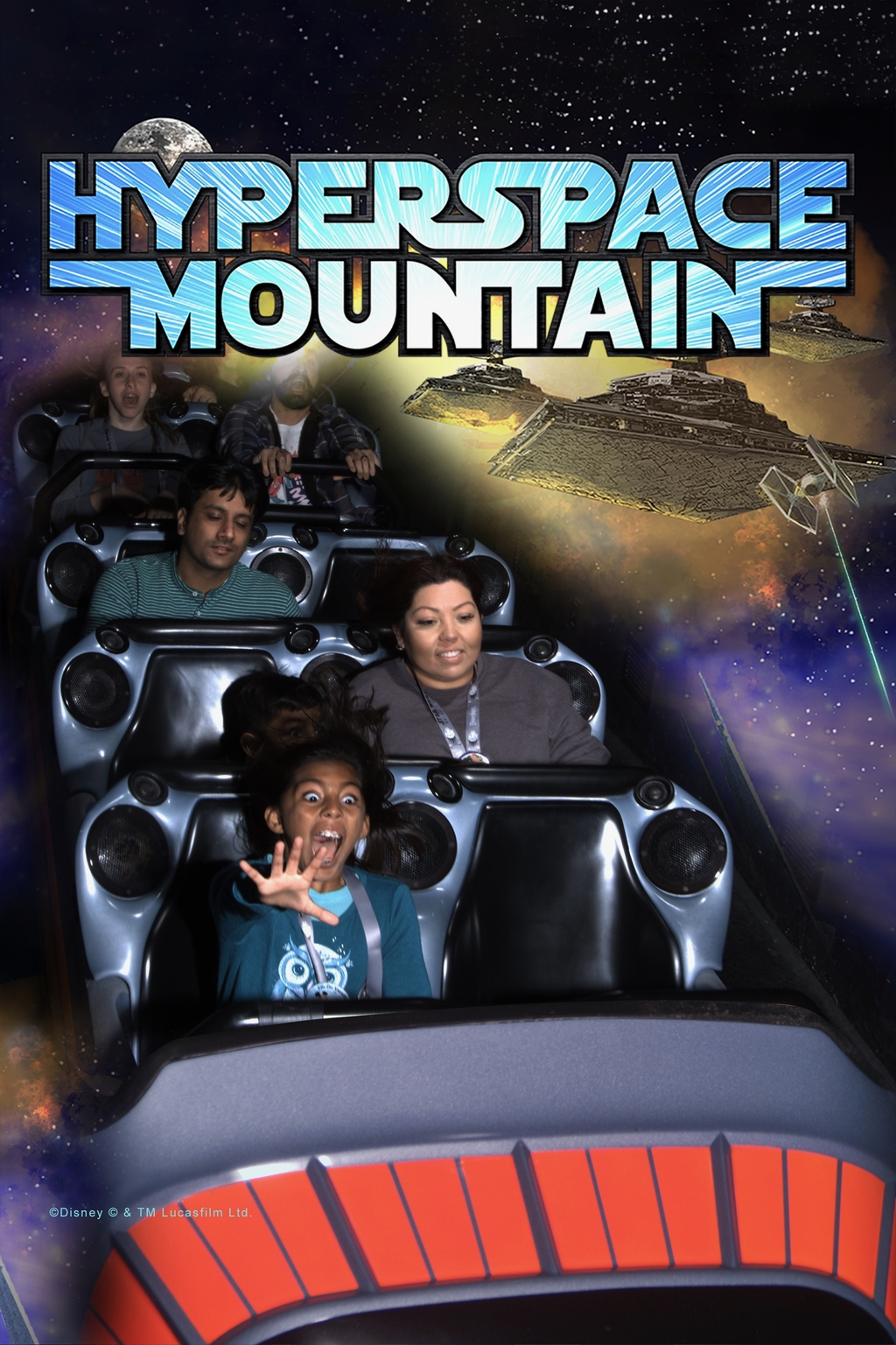 Space mountain, a space-... Magical Land of Disney. MemExp Blog