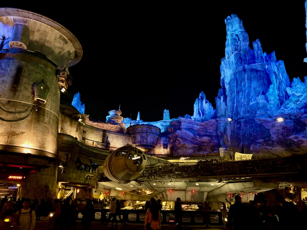 With life size space-shi... Magical Land of Disney. MemExp Blog