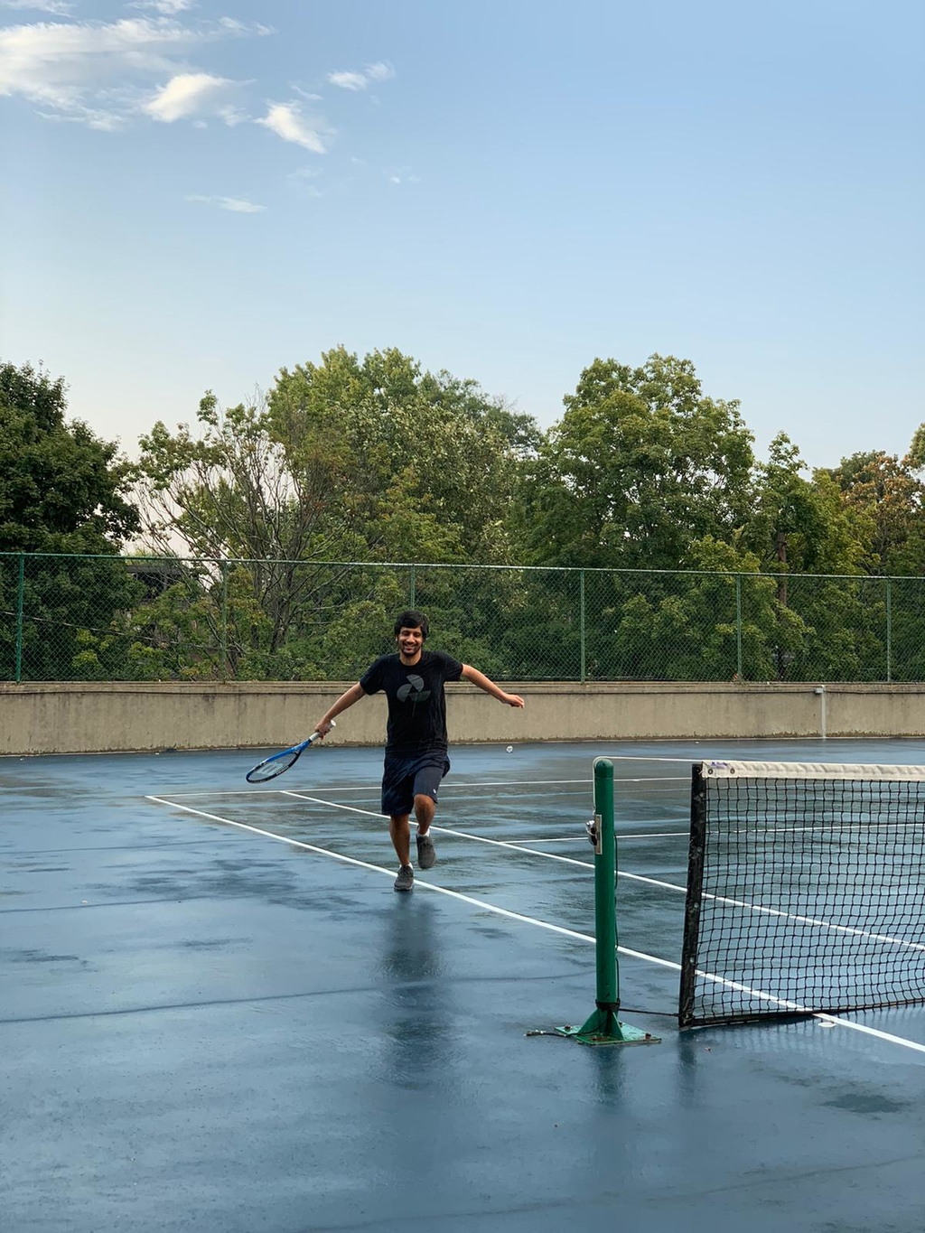 ... playing tennis, ... Summer & Spring with COVID. MemExp Blog