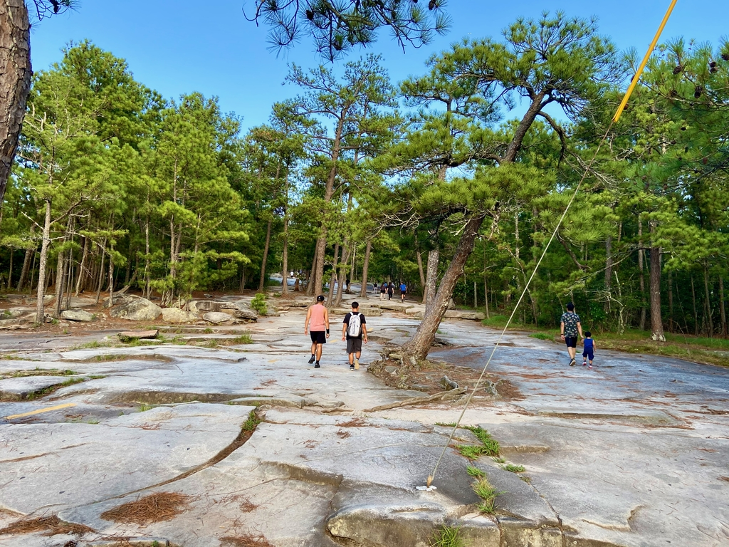It was created when shif... Stone Mountain Hike. MemExp Blog