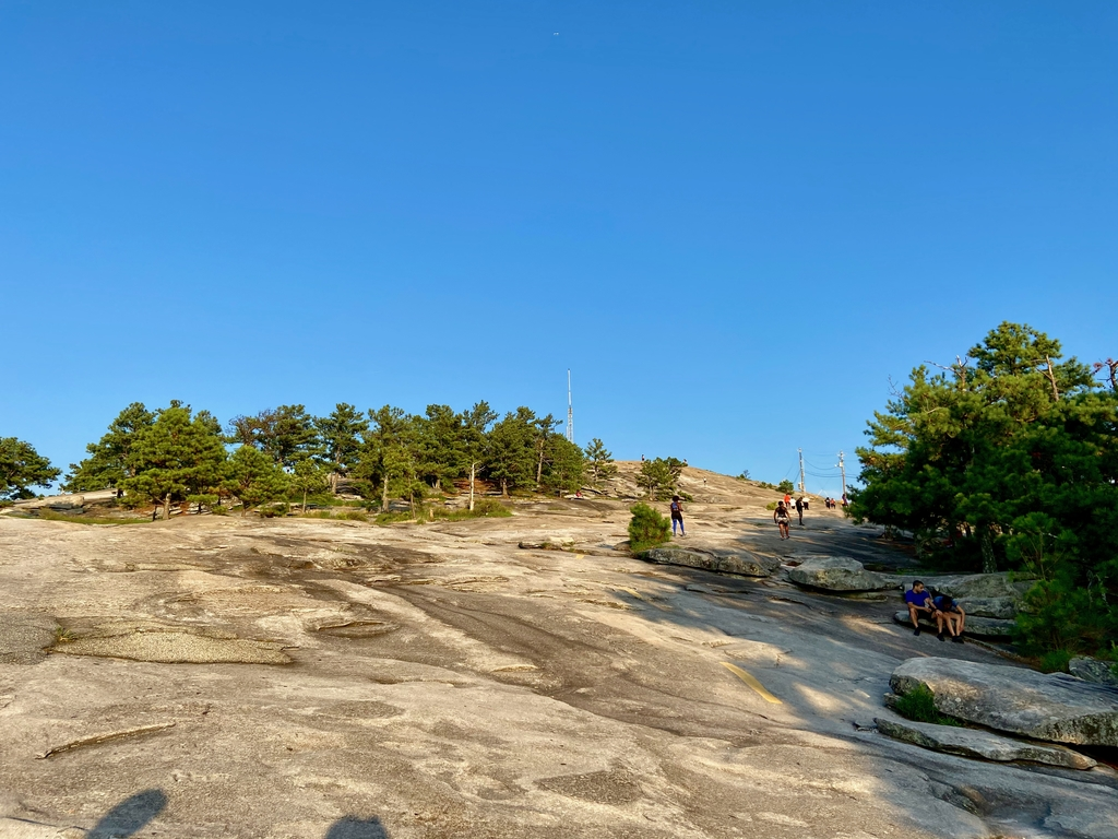Over time, the magma har... Stone Mountain Hike. MemExp Blog